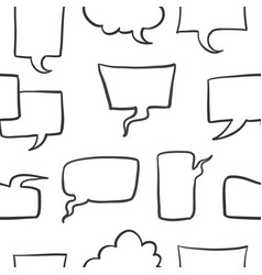 Doodle of text balloon stock collection vector