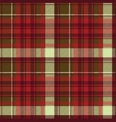 english check plaid fabric texture seamless vector image
