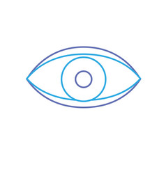 Eye human anaomy to optical graphic vector