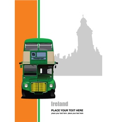 ireland tour vector image