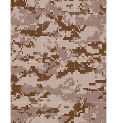 Military desert camouflage tileable vector