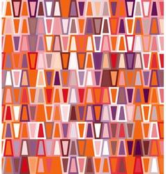 Trapezoid seamless geometric pattern vector