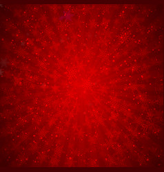 winter red background christmas made of vector image
