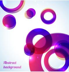 Bright purple background vector image