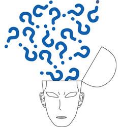 Question symbol vector image vector image