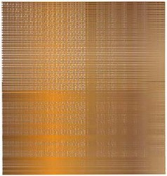 1Gold background with shadows and lines vector