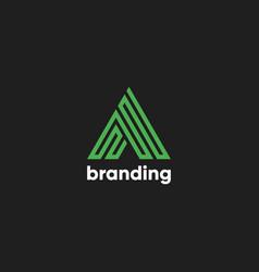 A branding logo vector
