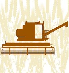 Combine Harvester 6 vector