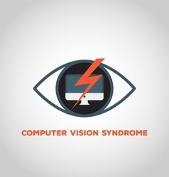 Computer vision syndrome vector