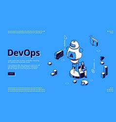 Development operations project integration vector