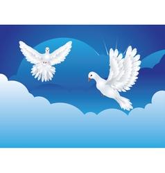 Dove in the Sky3 vector