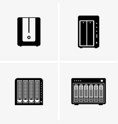 Network attached storage vector
