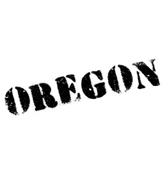 Oregon stamp rubber grunge vector image