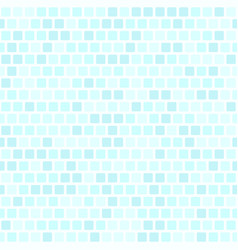 Square pattern cyan seamless background vector