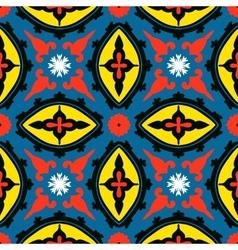Suzani seamless ethnic pattern vector