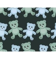 Teddy Bears Seamless pattern vector