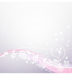 abstract soft flow background vector image