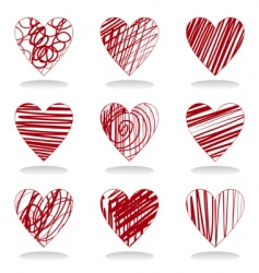heart icon5 vector image vector image