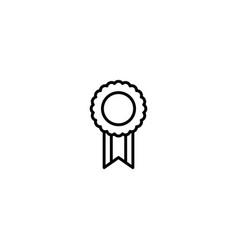 award banner icon vector image