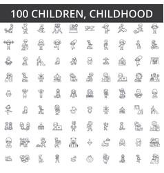 Children childhood preschooler newborn kid vector