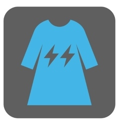 Electric Energy Girl Dress Rounded Square vector