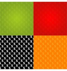 financial seamless texture vector image