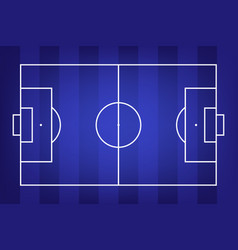 football field or soccer field background vector image