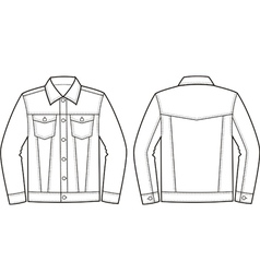 denim jacket vector images over 270