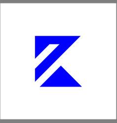 k logo initials letter k sign and symbol vector image