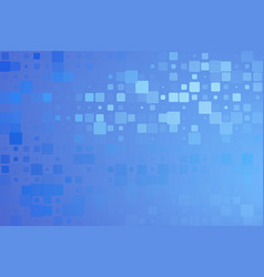 Pale and dark blueglowing various tiles background vector