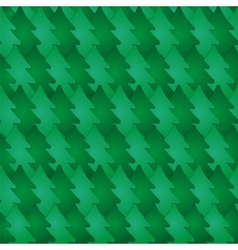 Seamless pattern with fir-tree vector image