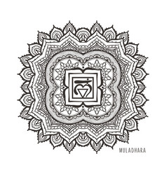 the soul star chakra symbol vector image