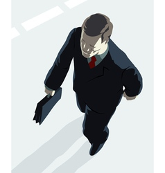 Top manager vector image