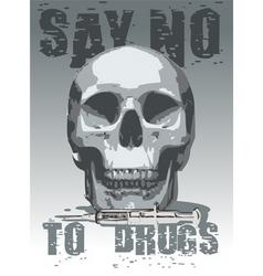 anti-drugs icon vector image