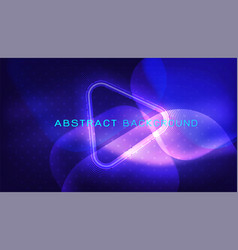 Abstract dynamic flowing wave for landing page vector