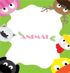 Animals wallpaper vector
