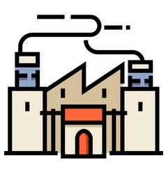 Factory linecolor vector