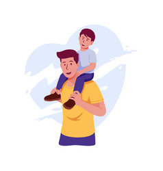 father-day vector image