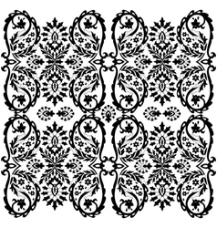 ottoman serial patterns two vector image