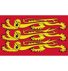 Royal Banner of England vector