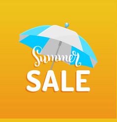summer sale background season discount vector image