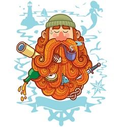 Sailor vector image