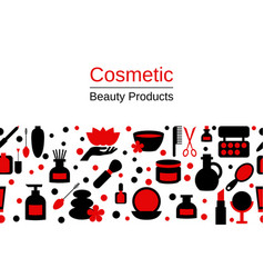 Background with spa icons background with spa vector