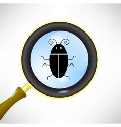 Computer Bug vector image