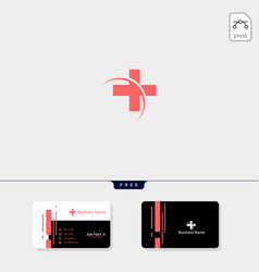 cross medical pharmacy logo design template get vector image