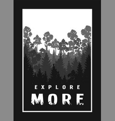 Explore more against background the vector