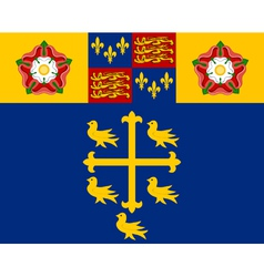 Flag of Westminster Abbey vector