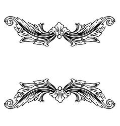 Floral label frame 9 vector