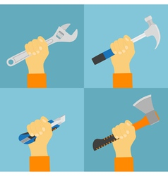 hand tools vector image