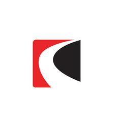 line way logo and symbols template app vector image